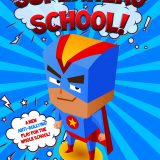 Superhero School A5 Front